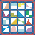 Physics of Motion Quilt Pattern